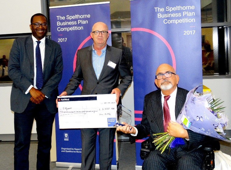 Spelthorne Business Plan Winners 2017