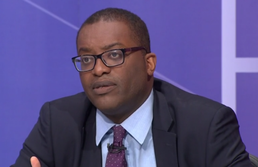 Kwasi Kwarteng said Jeremy Corbyn must be taken seriously