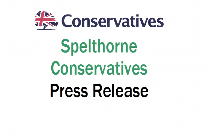 Spelthorne Conservative Press Release