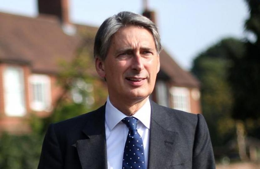 Philip Hammond MP Chancellor of the Exchequer