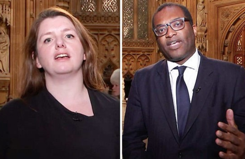 """It's completely wrong"" Kwasi Kwarteng shuts down Alison McGovern on Channel 4 News"