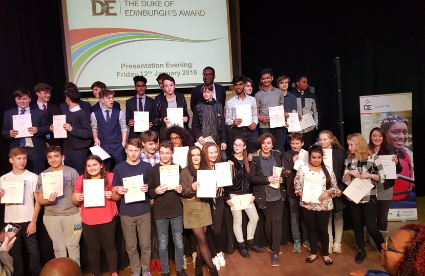 Duke of Edinburgh Presentation Evening