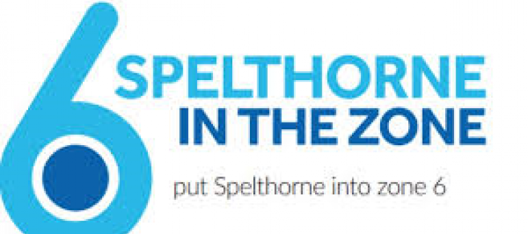 Spelthorne in the zone