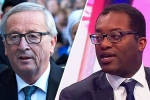 Jean-Claude Juncker and Kwasi Kwarteng